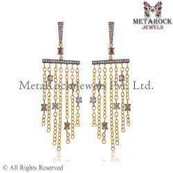 Pave diamond earrings pave diamond earring jewelry manufacturer diamond chandelier earrings aloadofball Choice Image