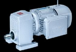 S Series Single Reduction Helical Gear Motors