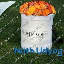 Cylindrical Flower Box