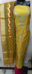 Aaditri Fancy Banarasi Silk Gota Patti Suit