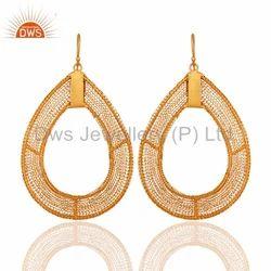 925 Sterling Silver Wire Earrings