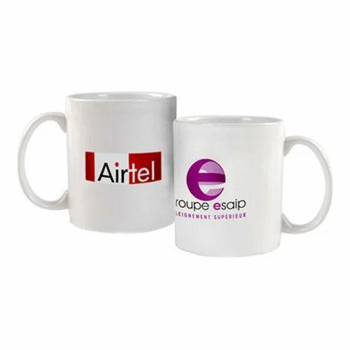 Customized Printed White Mug
