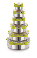 Lock and Lock Stainless Steel Containers