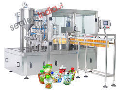 Spout Pouch Filling & Capping Machine