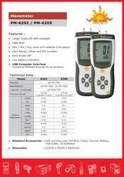 Digital Manometer PM6202