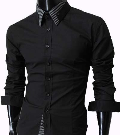 Designer Shirt - Casual Black Shirt Manufacturer from Kolkata