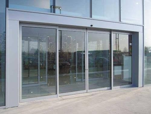 Sensor Sliding Glass Door