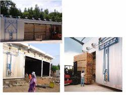 Timber Kiln Dryer Capacity 1000CFT