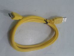 Data Cable In Yellow