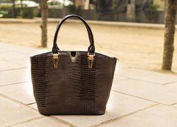 V Shaped Tote Bag