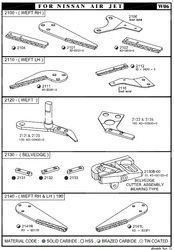 Nissan Air Jet Loom Assemblies
