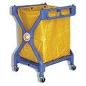 Cleaning Essentials X Type Garbage Collection Trolley, IE55