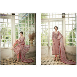 Chiffon Karachi Party Wear Suit