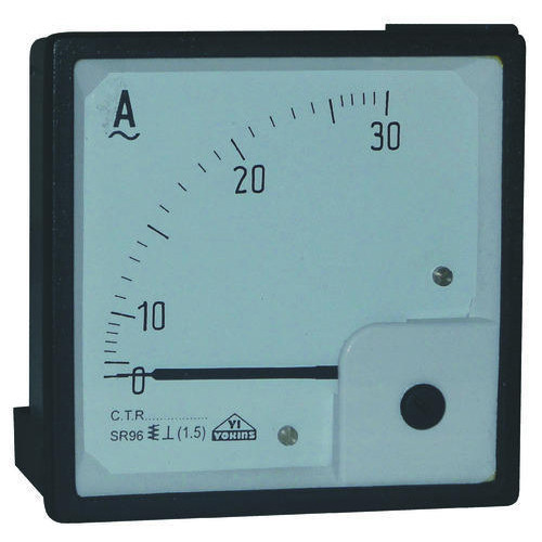 High Frequency Voltmeter : Analog panel meters moving iron ac voltmeter