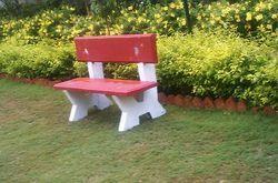 Garden Cement Bench