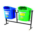 Plastic Waste Bins for Gardens