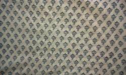 Mango Booti Block Printed Fabric