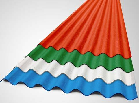 Corrugated Sheets Everest Super Colour Coated Corrugated