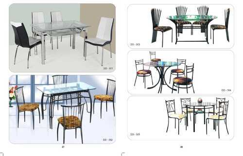 Steel Dining Sets Stainless Steel Dining Table Manufacturer From Mumbai