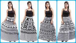 Barmari Wrap Skirt