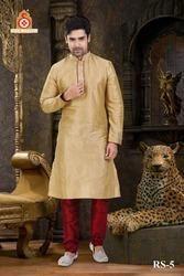Modern Fashionable Men Kurta With Churidar