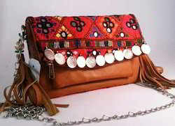 Banjra Leather Clutch Bags