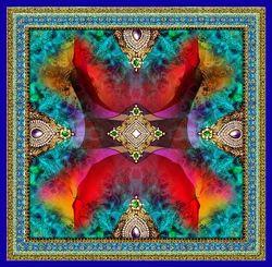 Digital Multi Color Printed Scarves