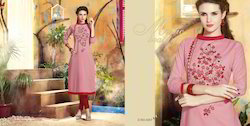 Full Sleeves Designer Kurti