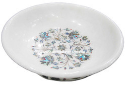 Marble Inlay Decorative Bowl