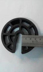 Rod Circular Cover Blocks 40mm For12 Dia