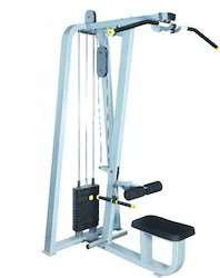 Lat Pulley with Rowing