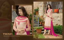 Trendy Pink Party Wear Suit