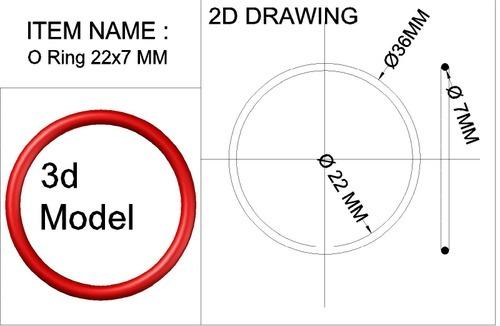 O-Ring 22x7