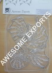 Silver Beads Embroidery