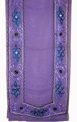 Cotton Embroidery Stoles