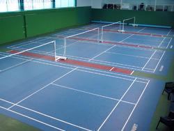 Badminton Court Marking Flooring