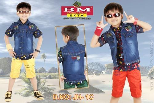 Denim Baba Suit