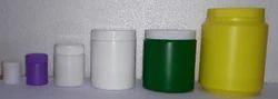 Cylindrical Powder Packaging HDPE Jar