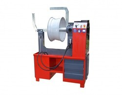 Alloy Wheel Rim Straightener Machine