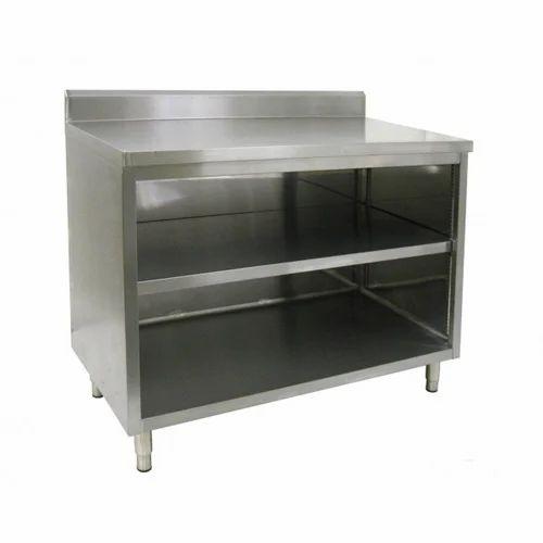 SS Restaurant Workstation Table