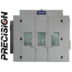 Paint Booth 7 M With Extra Wide Cabin