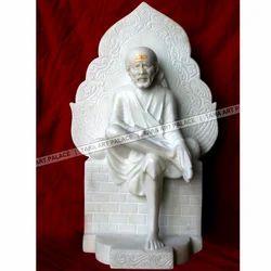 Marble Sai Baba God Statue