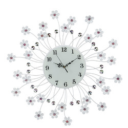 Metal Wall Clock 6506