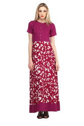 Women's Printed Long Dress