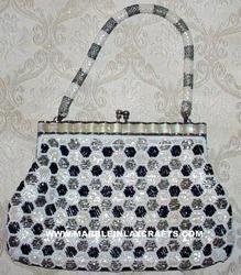 Fashionable Beaded Clutch Bag