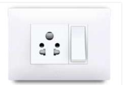 Slim Plate Metallic Electrical Switch