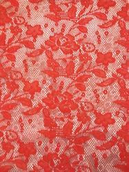 dress flower net fabrics