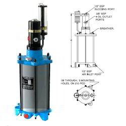 Hydropneumatic Intensifier
