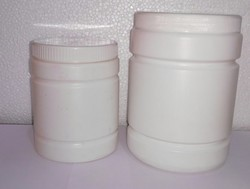 Cylindrical HDPE Jar