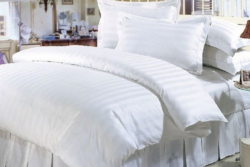White Bed Sheets   White Hotel Bed Sheets And Pillow Case Wholesale Trader  From Erode
